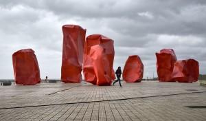 Belgien's Küste März 2017